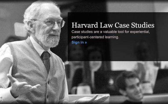 Harvard Law School   The Case