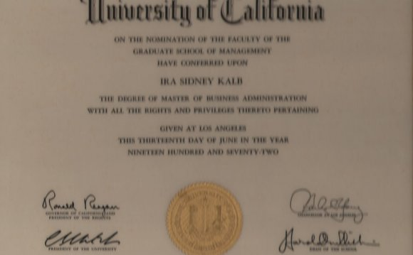 Masters in Business Education