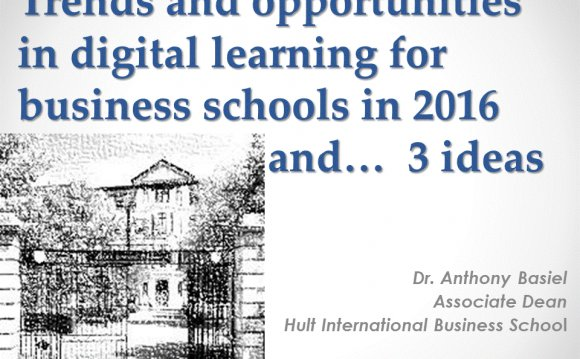 Trends in Business Education