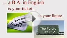 Bachelor of Arts in English at ACT