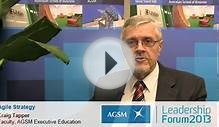 Craig Tapper, Faculty, AGSM Executive Education talks