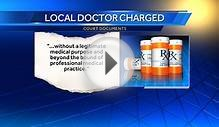 Doctor charged with prescribing pain medications that