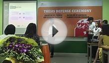 FU Spring 2015 Thesis Defense - Bachelor of Business
