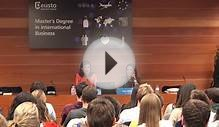 Master in International Business: Opening Ceremony