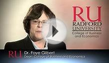Master of Business Administration at Radford University