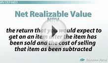 Net Realizable Value of Inventory: Definition & Method